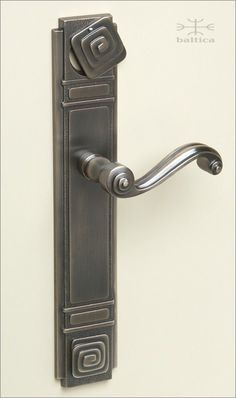 Beautiful Antique Brass Entry Door Hardware