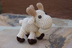 BABY REINDEER SVEN Meet baby reindeer Sven, Mrs V's latest creation. He is 5 inches tall and 5 1/2 inches long with those extra cute antlers, fantastic looking hoofs, cute little tail and Child safety eyes. He will be a must have for the Frozen fans. Item #232, $25.00ea Mrs. V's Crochet