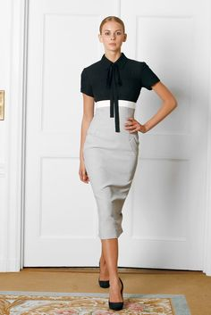 Victoria Beckham Spring 2009 Ready-to-Wear Fashion Show