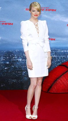 Emma Stone's 10 Best Red Carpet Looks Ever - Andrew Gn, 2012 from #InStyle