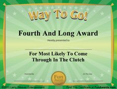 Funny Sports Awards Certificates - √ 20 Funny Sports Awards Certificates ™, Funny Awards Ideas for Sports Template Fun Awards, Teacher Awards, Sports Awards, Candy Awards, Kids Awards, Funny Certificates, Award Certificates, Certificate Templates, Printable Certificates