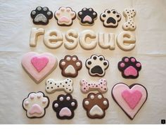 Pug Decorated Sugar Cookies Royal Icing Fawn Pug