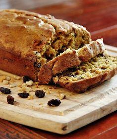 Delicious recipe for walnut raisin pumpkin bread. This easy recipe is perfect for fall. Walnut raisin pumpkin bread recipe. Easy to make and delicious.