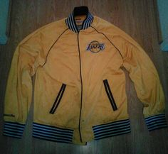 Los Angeles Lakers Hardwood Classics Jacket By Mitchell & Ness - Size 2xl from $14.0