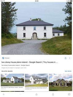 Two Storey House Plans, Farm House For Sale, Farmhouse, House Design, Contemporary, Mansions, Tiny Houses, House Styles, House Ideas