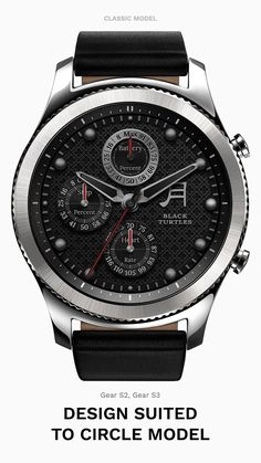 Black Turtles for Gear Modern Watches, Casual Watches, Luxury Watches, Cool Watches, Watches For Men, Max Black, Watch Faces, Casio Watch, Smart Watch