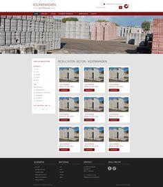 Vandaag is het ontwerp van Kouwenhoven Materialen goedgekeurd door de klant. Identity, Desktop Screenshot, Personal Identity