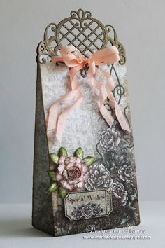 Designs by Marisa. Heartfelt Creations Special Wishes Gift Bag.