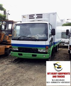 bd38eaaf720306 FUSO FIGHTER 6W REFRIGERATED VAN ENGINE  6M61 MFD.IN  2001 PRICE  ASK