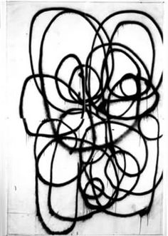 Christopher Wool. nahh if its like that its a great scribble