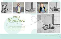 Magazine Style Blog Boards Photoshop Templates For Photographers 2