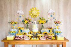 Festa Infantil com Tema Sunshine: Veja Como Fazer Essa Decoração Fantástica