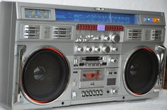 Vintage boombox. HELIX . CONION.....................Please save this pin.   .............................. Because for vintage collectibles - Click on the following link!.. http://www.ebay.com/usr/prestige_online