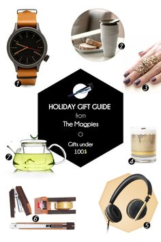 Holiday Gift Guide from The Magpies #holiday #gifts #themagpiesblog