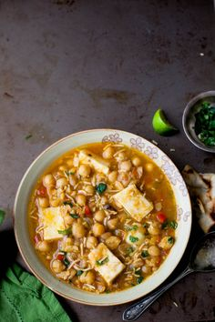 Sinfully Spicy - Chole Paneer, Chickpeas With Indian Cheese #streetfood #recipe
