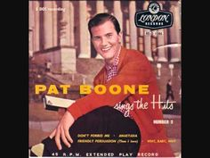 Pat Boone - Friendly Persuasion (Thee I Love) (1956) (+playlist)
