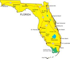 10 Best Map Of Florida Images Map Maps Florida