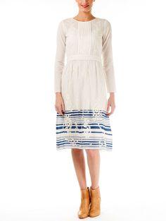 Embroidered White Dress Vanessa Bruno