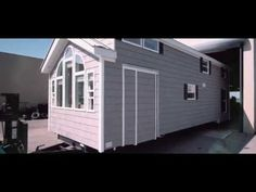 Experience the construction of a Kropf Park Model vacation home, unit From placing the order to the custom interior work, each Kropf home is made to cu. Tiny House Loft, Tiny House Plans, Tiny House Design, Tiny Houses, Park Model Rv, Park Model Homes, Kropf, Loft Plan, Backyard Cottage