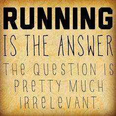 The answer is always Running! My Story | All Natural Nutrition by Krista http://allnaturalnutritionbykrista.com/my-story/