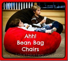 I want: Ahh Bean Bag Chairs