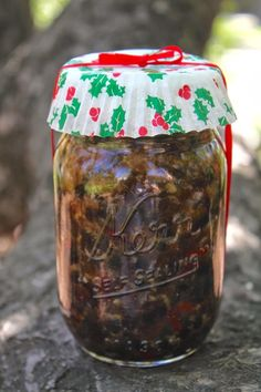Mincemeat Filling for Pies ~ Make it Now for Christmas Gifts in December - Christina's Cucina
