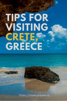 Tips for visiting Crete: how to make the most of your trip to Crete – Travel M. - Tips for visiting Crete: how to make the most of your trip to Crete – Travel Moments In Time – - Greece Vacation, Greece Travel, Greece Trip, Europe Travel Guide, Travel Guides, Travel Destinations, European Destination, European Travel, Crete Holiday