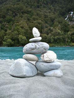 Rock Cairn, New Zealand