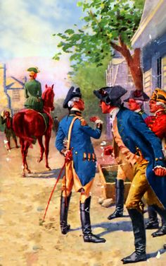 Officers of the Continental Army in Philadelphia
