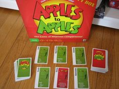 Apples to apples stuff-what-me-and-leon-have-done