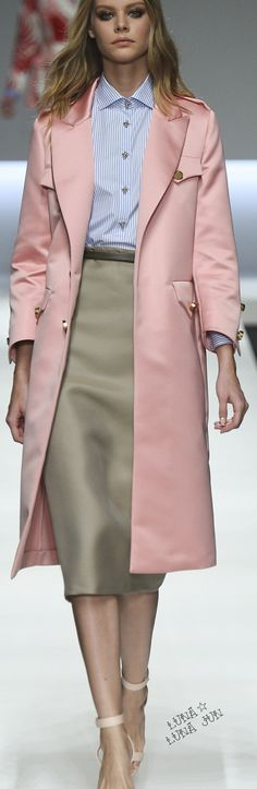 Ermanno Scervino Spring 2016 women fashion outfit clothing style apparel @roressclothes closet ideas
