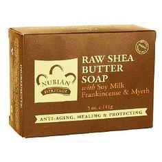 Nubian Heritage Honey & Black Seed Soap, with Soy Milk, Frankincense & Myrrh
