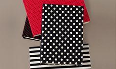 Capas de tecido dão um charme maior a cadernos e livros de receitas - Casa - MdeMulher - Ed. Abril