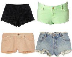 short shorts! #FestivalFashion
