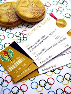 Olympic party printables / invitation that looks like a ticket.) Olympic Party Inspiration by Board Bella Bella Studios-photo via coolmompicks Olympic Idea, Olympic Sports, Olympic Games For Kids, Party Tickets, Party Invitations, Invites, Printable Invitations, Printable Tickets, Free Printable