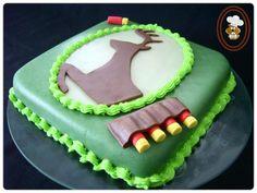 Gâteau du chasseur - Hunting cake - Le blog de La Marmotte