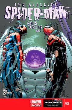 Vecchio Logan: Superior Spider-Man #29 - Momenti Catartici!