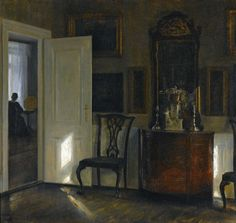 a painting by Carl Holsoe (19th century Danish painter)