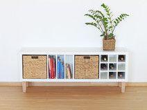 Möbelfüsse für IKEA Kallax, Konisch 16 cm 4er-Set