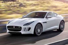 Jaguar F-Type Coupe. I will own one of these before I die!!
