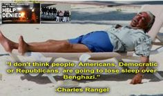 Charlie Rangel: I Don't Think Americans Are Going to Lose Sleep over Benghazi Posted on May 13, 2014 by Suzanne Hamner