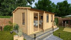 """£999 + extras approx £300 for stronger flooring and shingle roofing 11'7"""" x 9'3"""""""