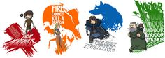 Game Of Thrones characters series by ADN-z.deviantart.com on @deviantART
