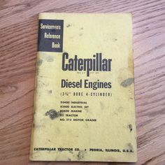 Available on ebay caterpillar d330 diesel engine runs exc d4d dozer cat caterpillar d3400 diesel engine service manual servicemens reference d2 212 fandeluxe Choice Image