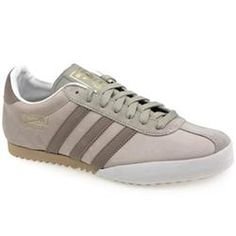 Adidas Male Bamba Leather Upper in Grey ADIDAS Bamba Get your retro kicks with the Adidas Bamba! The original version of this classic football shoe first appeared in the 1980s, with a simple and clean silhouette punctuated with special desi http://www.comparestoreprices.co.uk/trainers/adidas-male-bamba-leather-upper-in-grey.asp