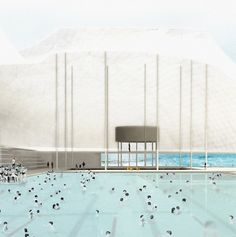 SYDNEY / Green Square pools - LCLA office