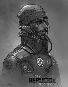 Joey storyteller REPLICIDE by Boris-Dyatlov.deviantart.com on @deviantART
