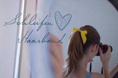 DIY - Haarschleife  http://pearlsforpillows.wordpress.com/2014/08/05/diy-schleifen-haarband/  #diy #hair #bow #beauty