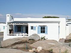 Fisherman's cottage in Paternoster Fishermans Cottage, Beach Cottages, Beach Houses, Bedroom With Ensuite, Good House, Tiny House Living, Small Space Living, Bed And Breakfast, Bungalow