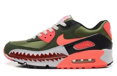 NIKE Women's Air Max 90 Running Shoe Fresh MintBarely Green Gum Light Brown